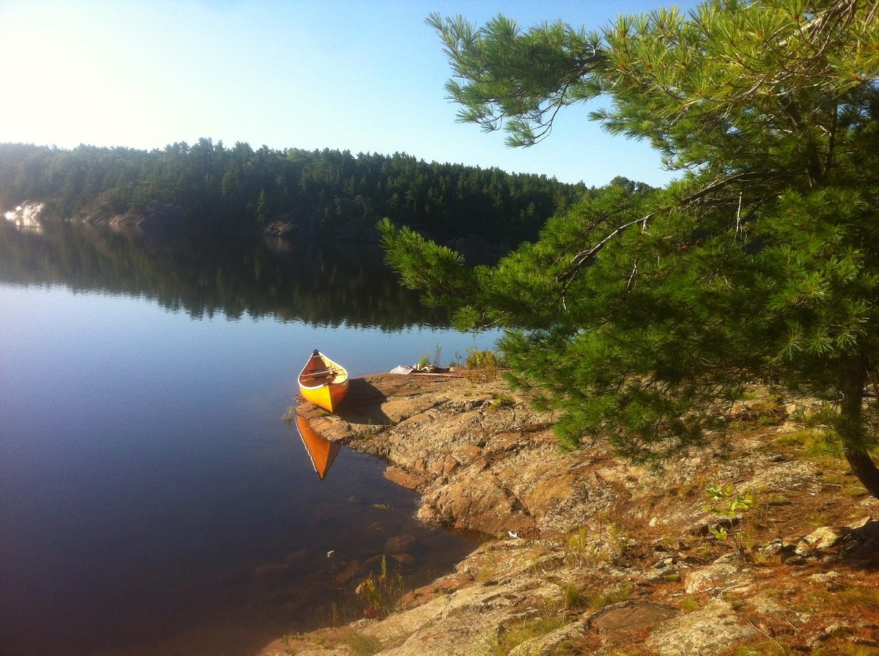 Our friendsoftemagami maintenance trip began with a long bumpy drive